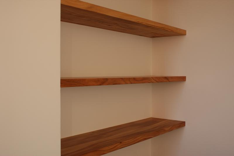 Wandplank Met Verborgen Ophangsysteem.Plank Onzichtbaar Ophangen