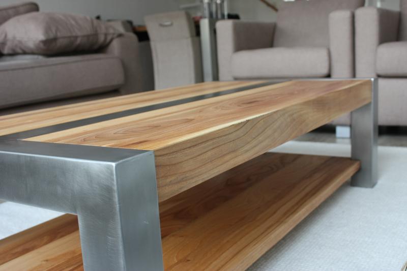 Rvs Onderstel Tafel : Rvs onderstel tafel. beautiful rvs frame met massief gerookt eiken