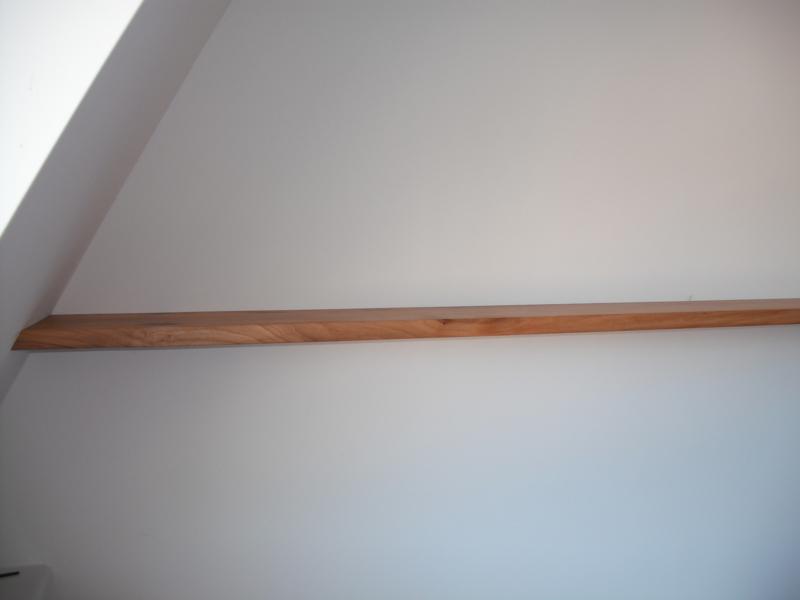 Zwevende Plank Muur.Zwevende Boekenplank Van Iepen Meubelmakerij Korthout
